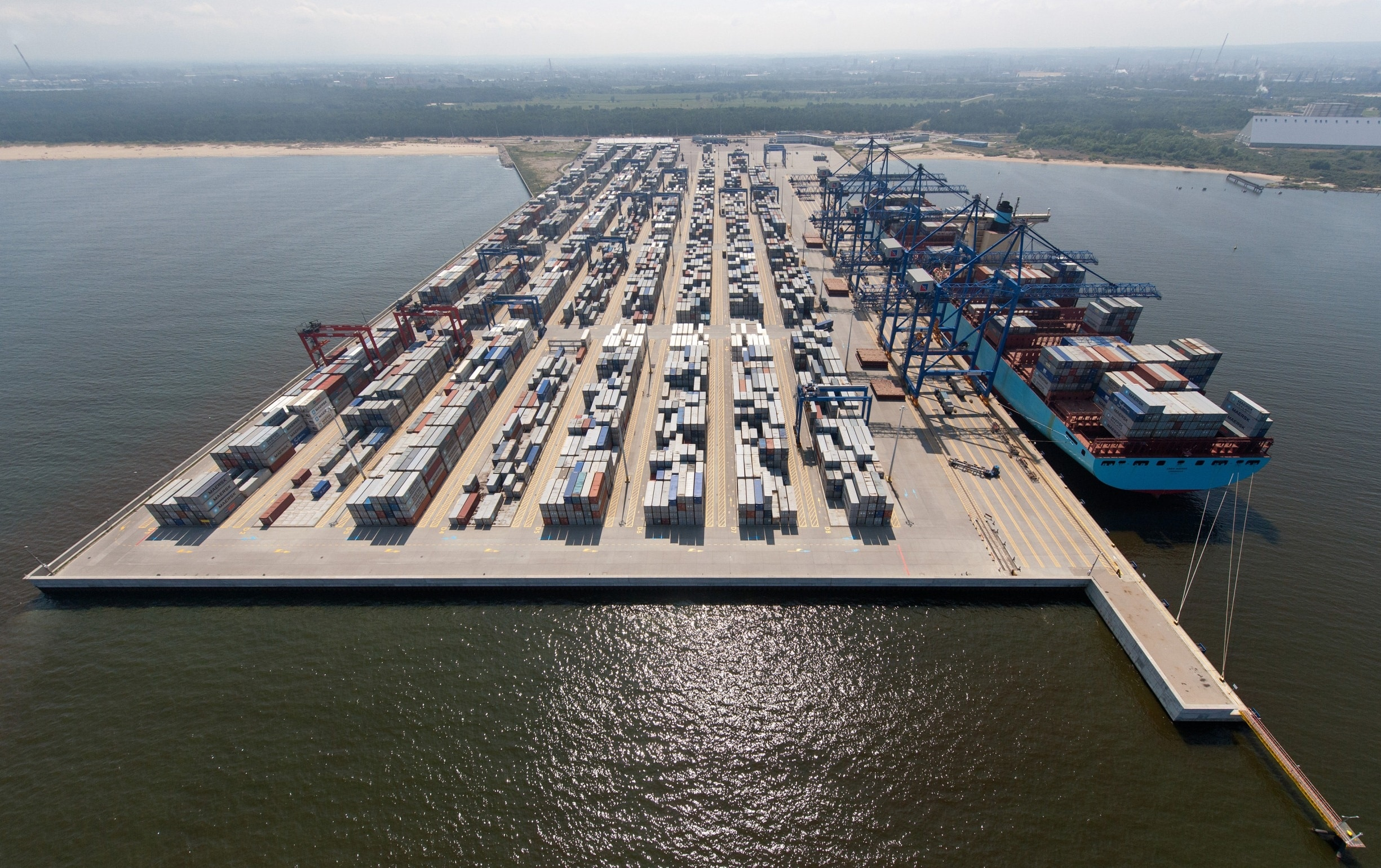 Funding Support DCT Container Terminal Phase 2