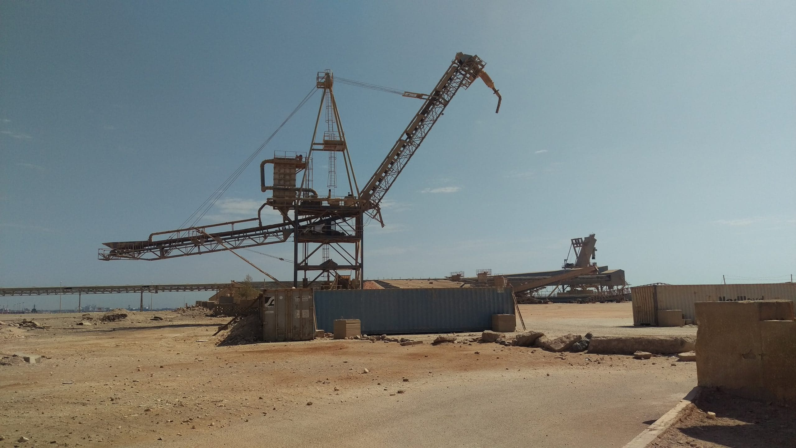 Feasibility Study for Abu Tartour Port