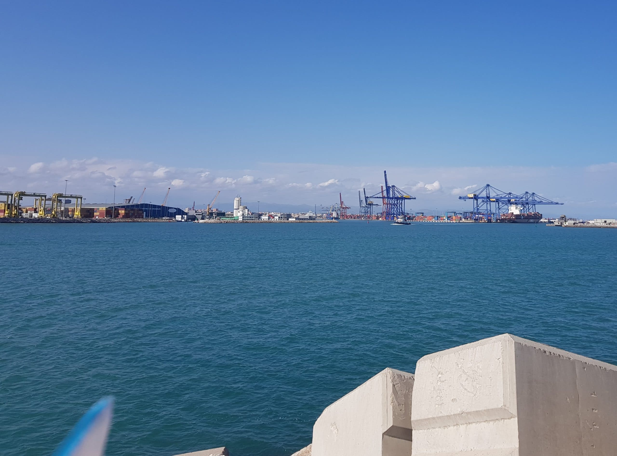 New Container Terminal Feasibility Study Valencia Port