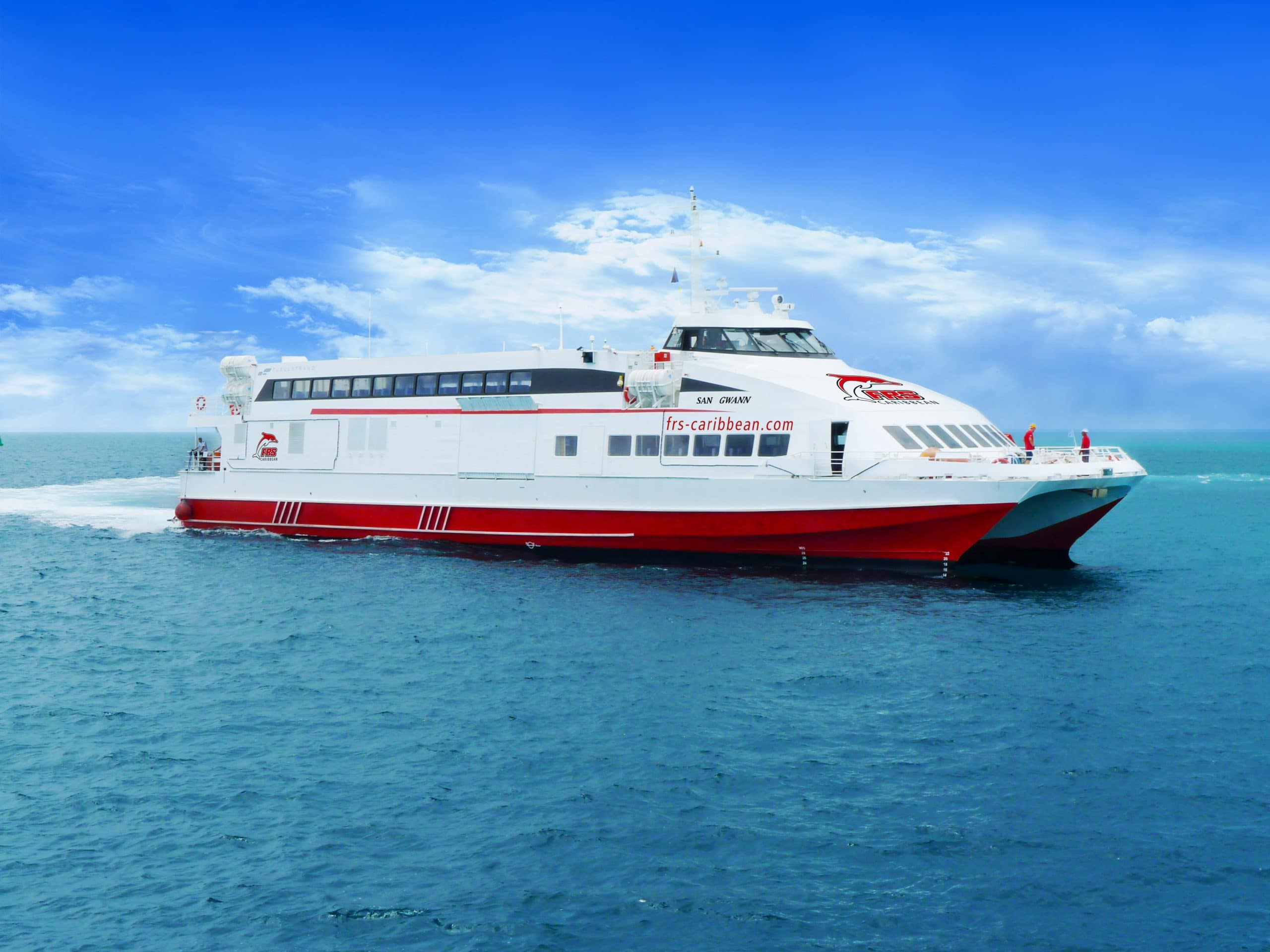 Feasibility Study Ferry Service Eastern Caribbean