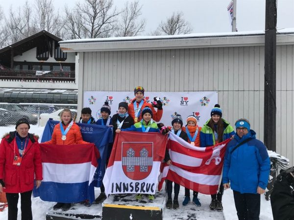 MTBS-Sponsored Team of Dutch Speed and Figure Skaters Excels at the International Children Winter Games 2019