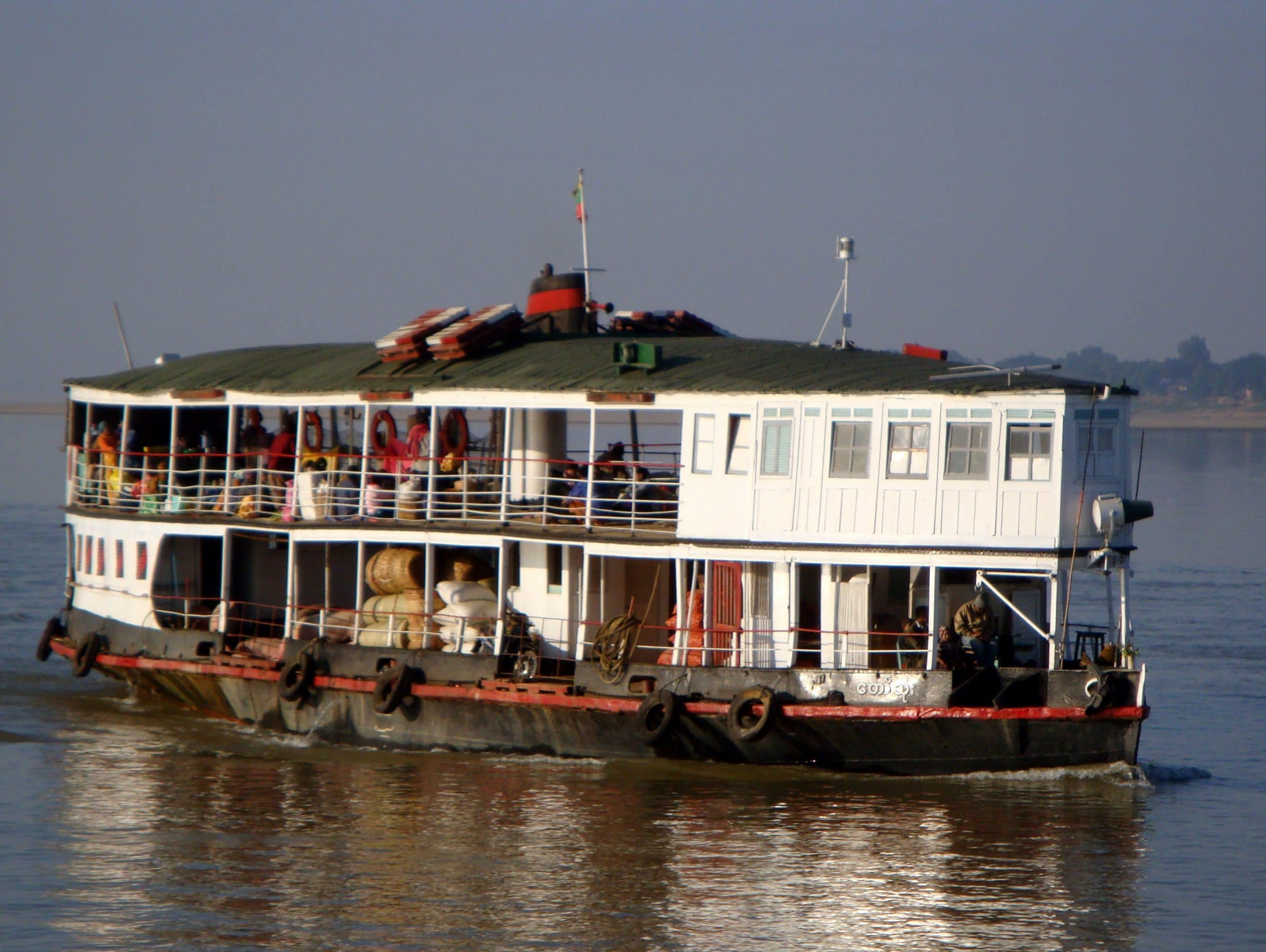 Feasibility Study for Public Transport on the Chindwin River
