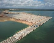 Lamu Port Completes Building its First Berth